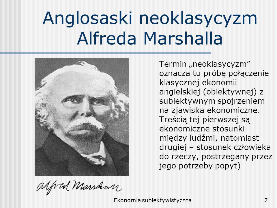 Anglosaski neoklasycyzm Alfreda Marshalla