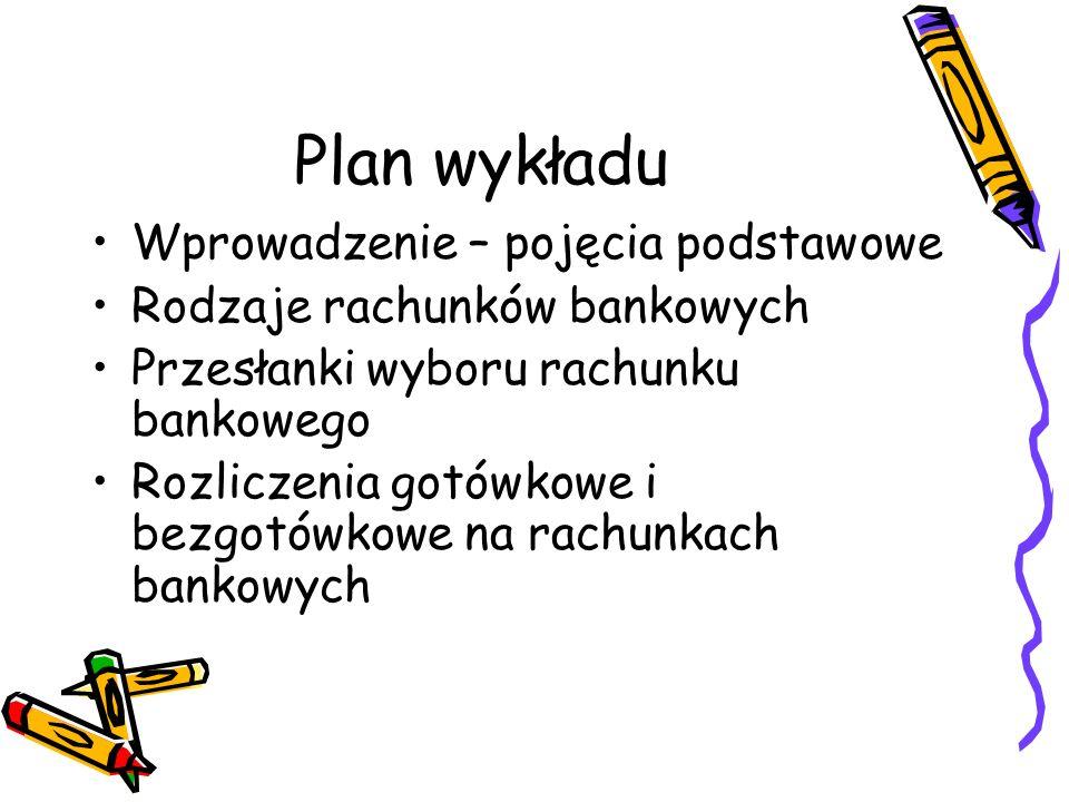 Plan wykładu Wprowadzenie – pojęcia podstawowe