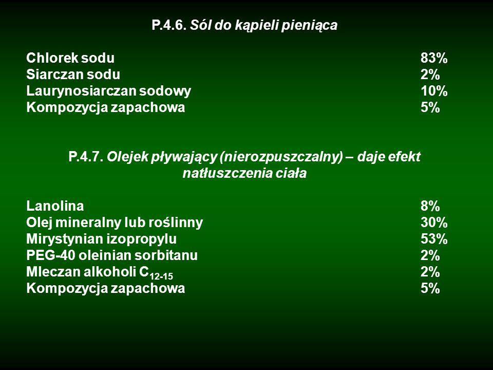 P.4.6. Sól do kąpieli pieniąca