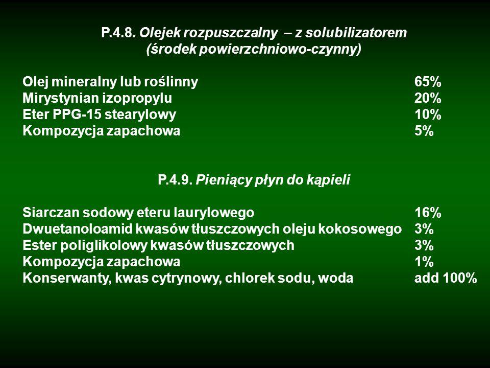 P.4.8. Olejek rozpuszczalny – z solubilizatorem