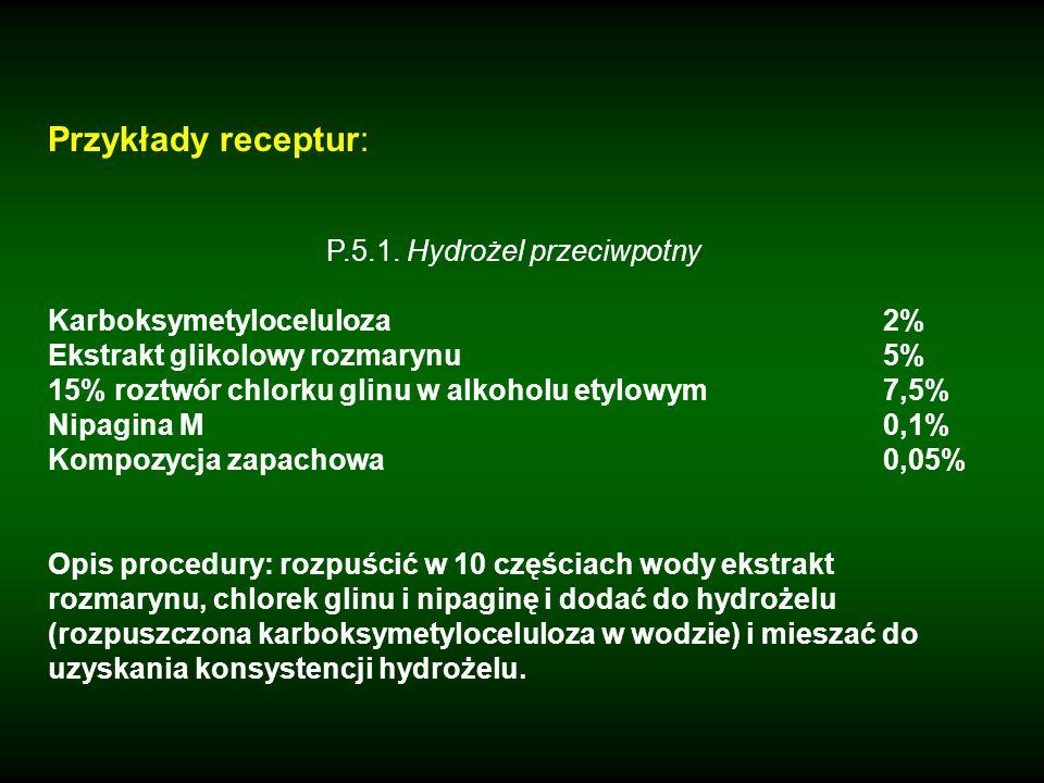 P.5.1. Hydrożel przeciwpotny