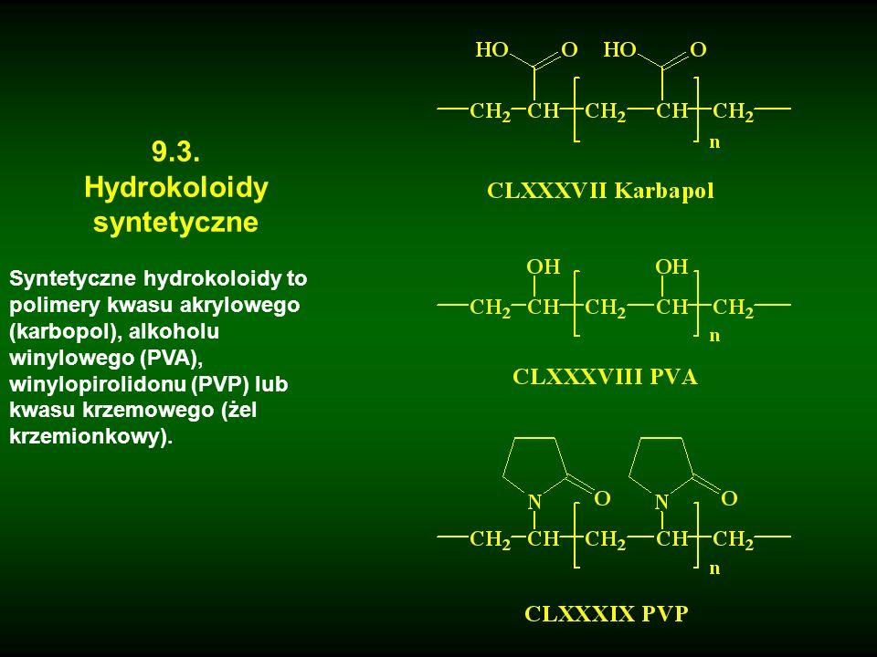 Hydrokoloidy syntetyczne