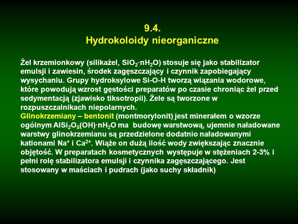 Hydrokoloidy nieorganiczne