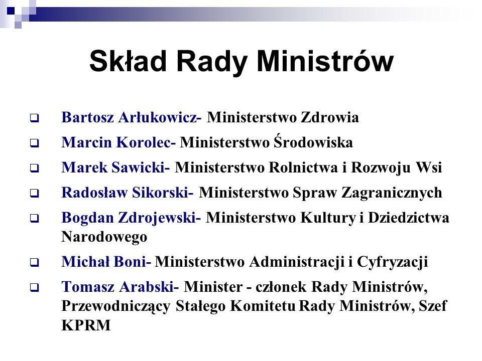 Skład Rady Ministrów Bartosz Arłukowicz- Ministerstwo Zdrowia