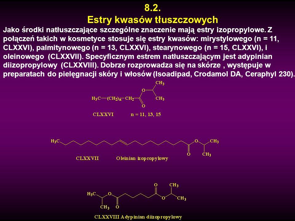 Estry kwasów tłuszczowych