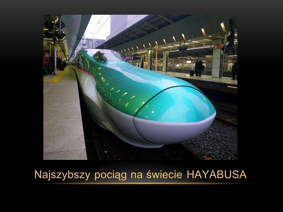 Najszybszy pociąg na świecie HAYABUSA