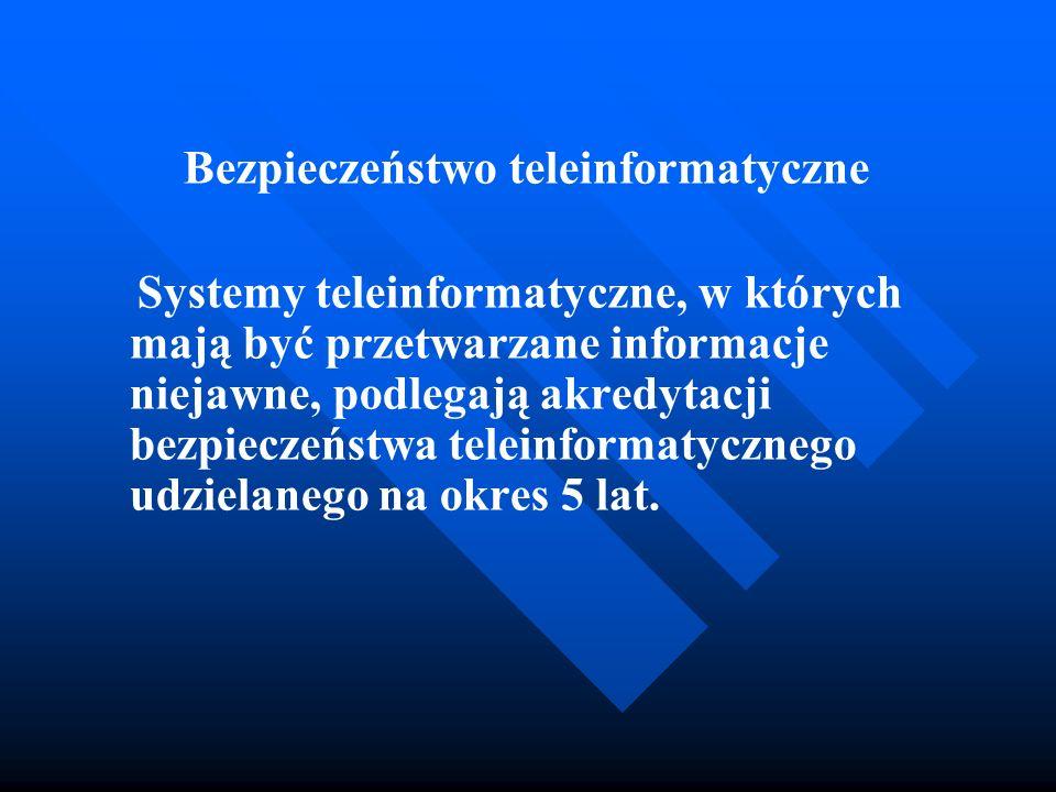 Bezpieczeństwo teleinformatyczne