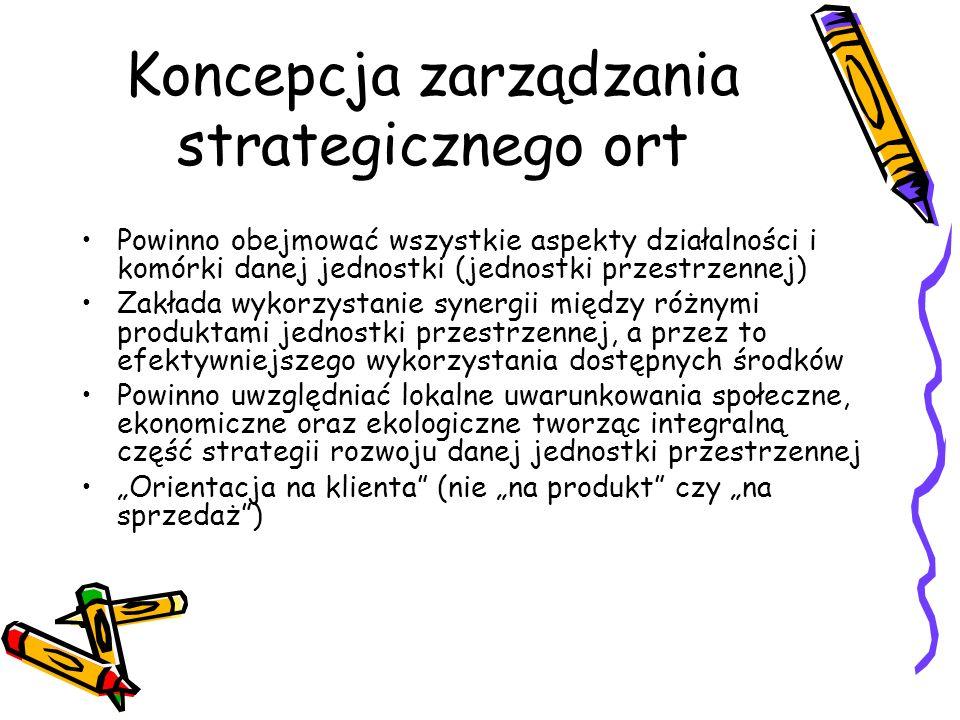 Koncepcja zarządzania strategicznego ort
