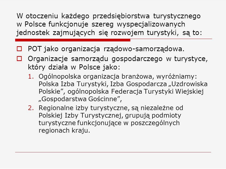 POT jako organizacja rządowo-samorządowa.