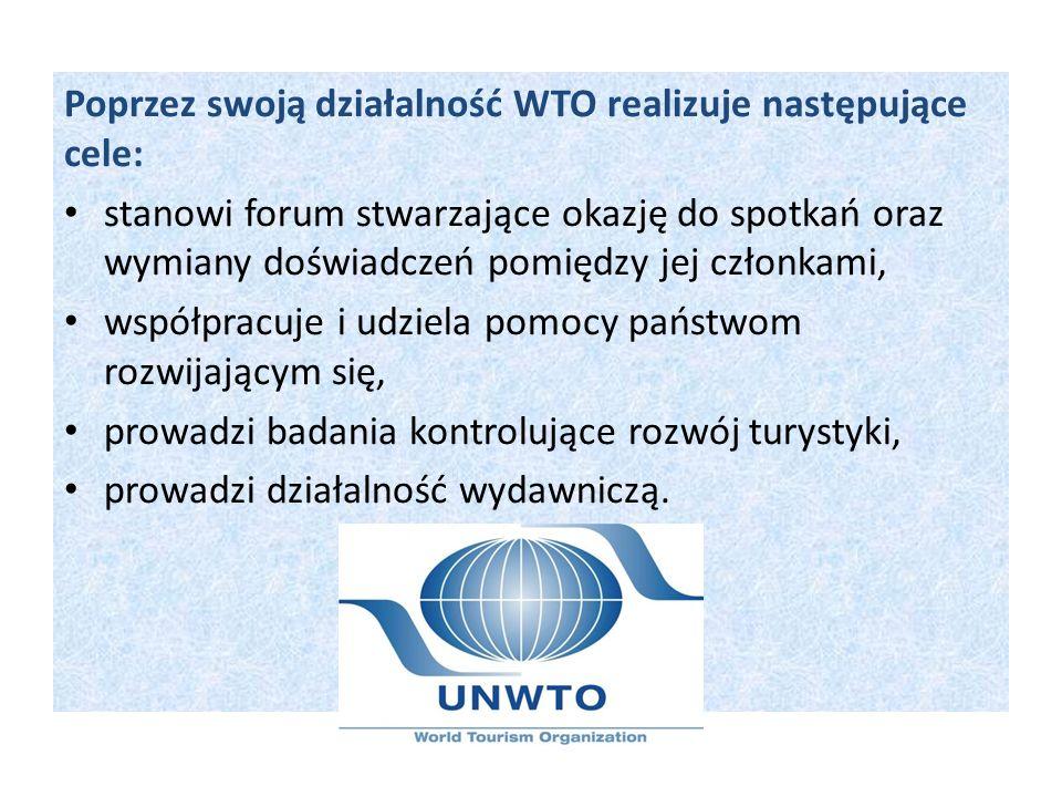 Poprzez swoją działalność WTO realizuje następujące cele: