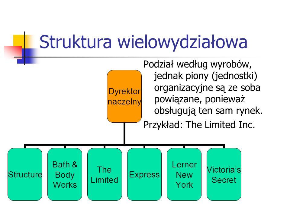 Struktura wielowydziałowa