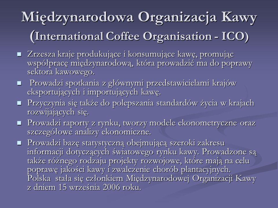 Międzynarodowa Organizacja Kawy (International Coffee Organisation - ICO)