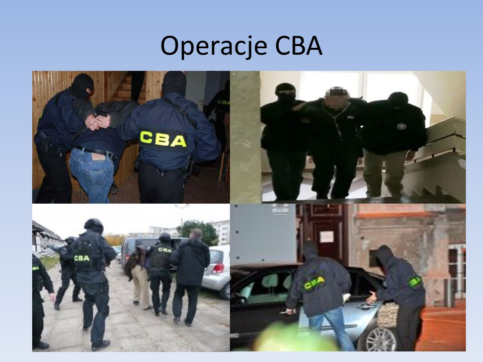Operacje CBA