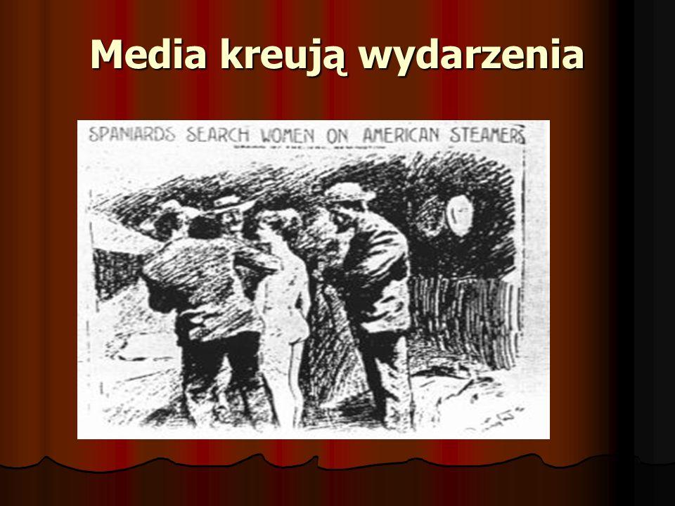 Media kreują wydarzenia