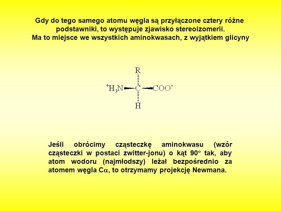 Gdy do tego samego atomu węgla są przyłączone cztery różne