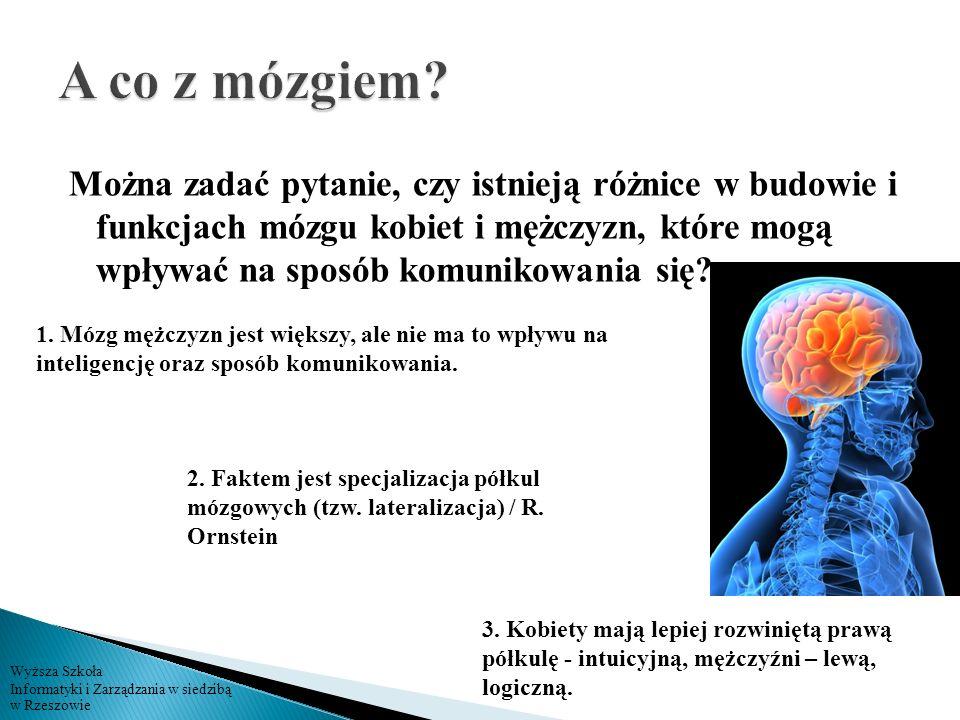 A co z mózgiem