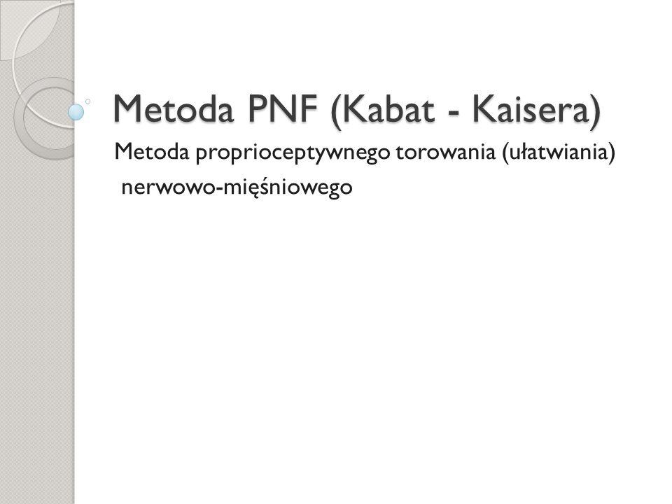 Metoda PNF (Kabat - Kaisera)