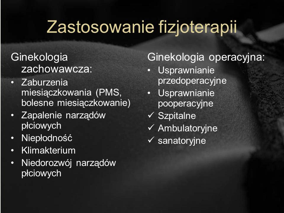 Zastosowanie fizjoterapii