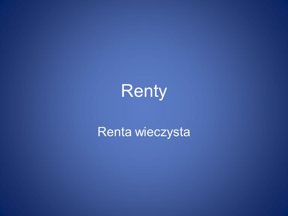 Renty Renta wieczysta