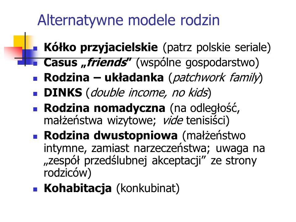 Alternatywne modele rodzin
