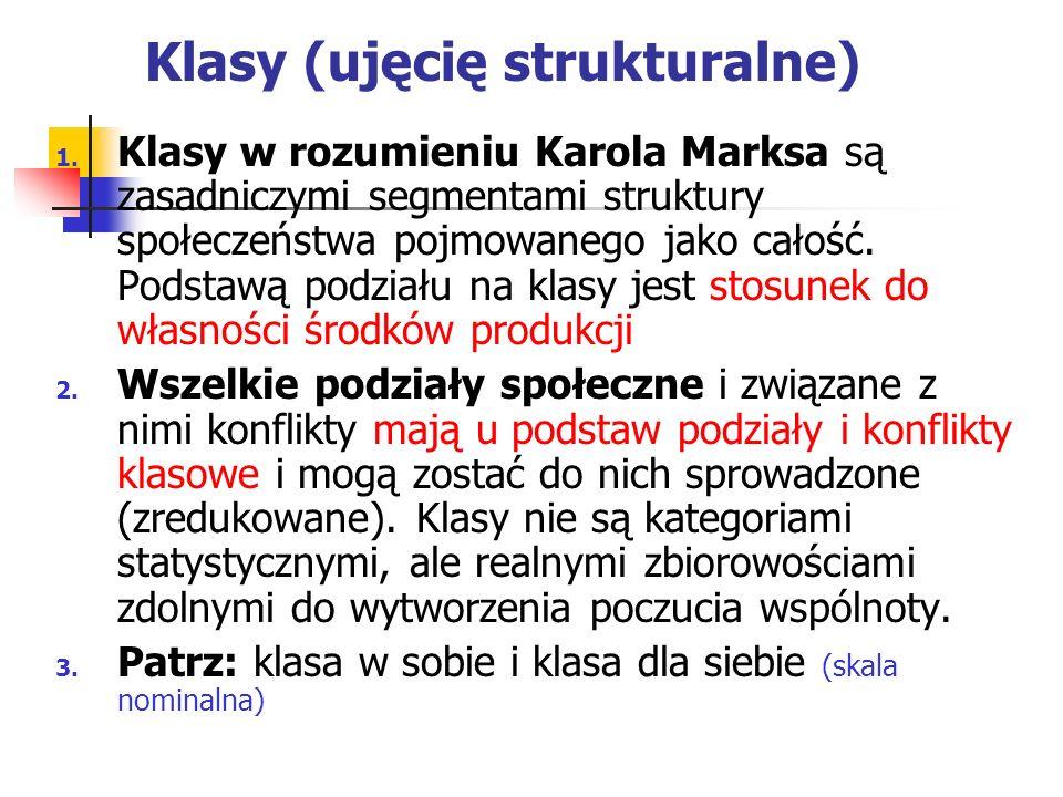 Klasy (ujęcię strukturalne)