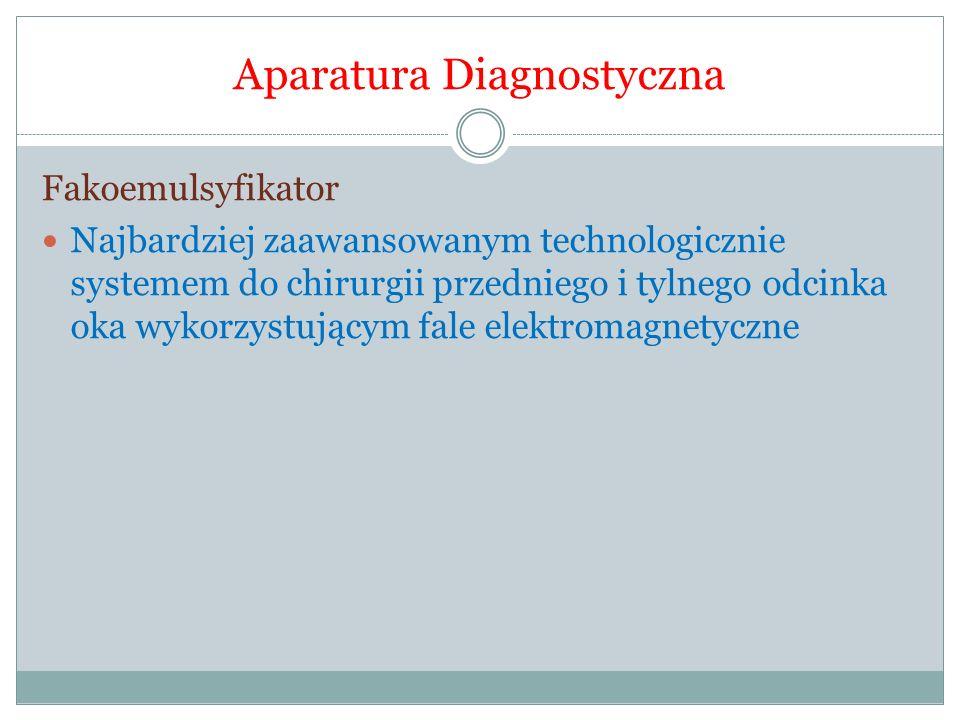 Aparatura Diagnostyczna