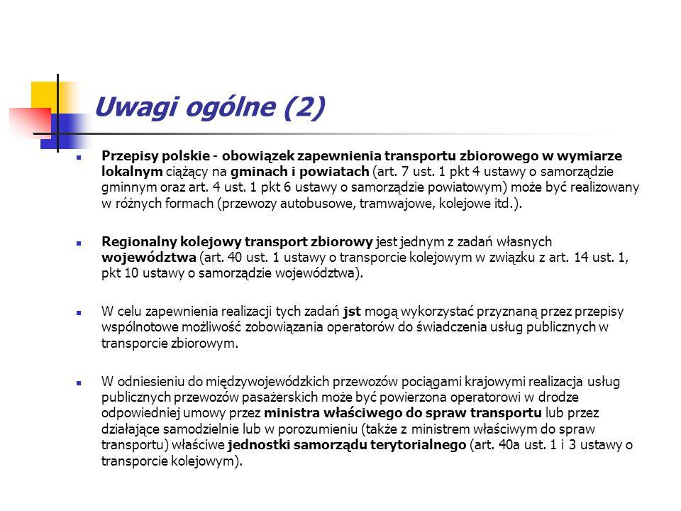 Uwagi ogólne (2)