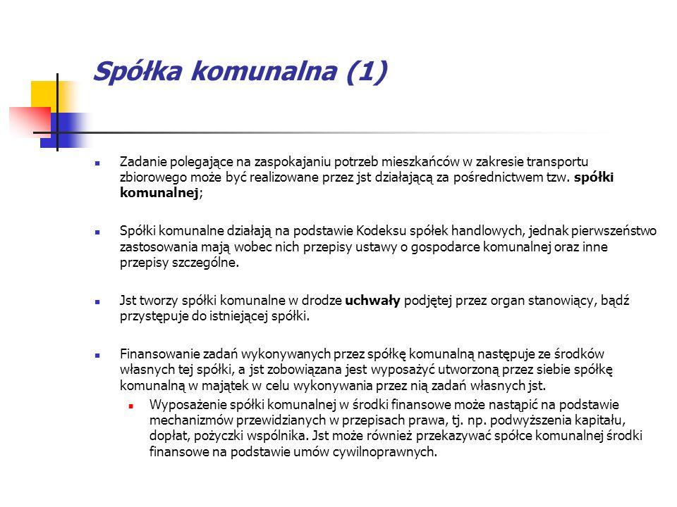Spółka komunalna (1)