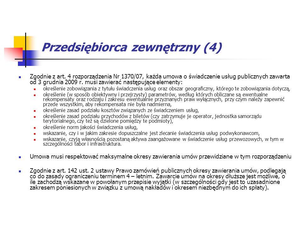 Przedsiębiorca zewnętrzny (4)