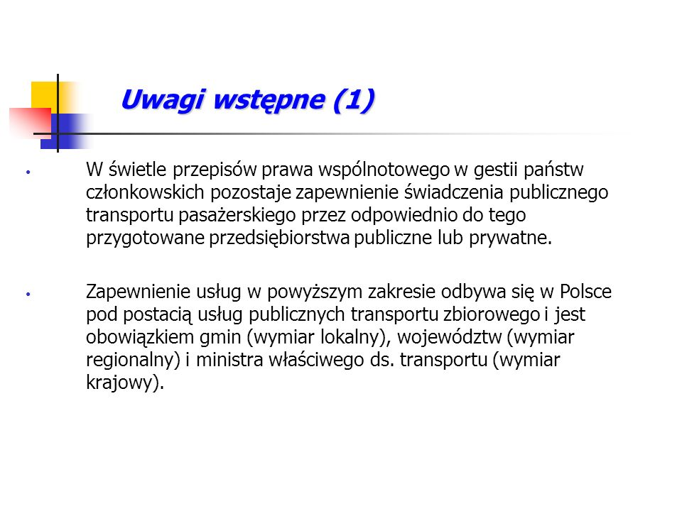 Uwagi wstępne (1)