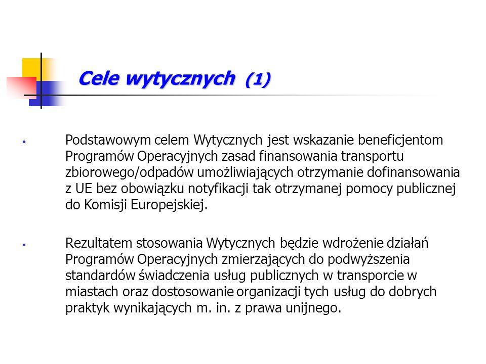 Cele wytycznych (1)