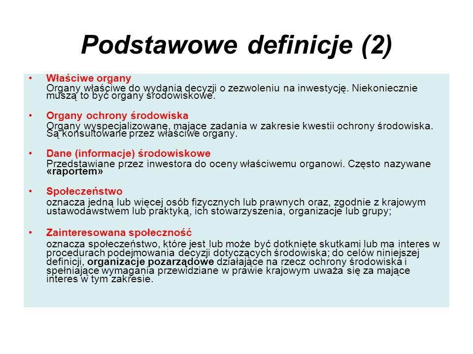 Podstawowe definicje (2)