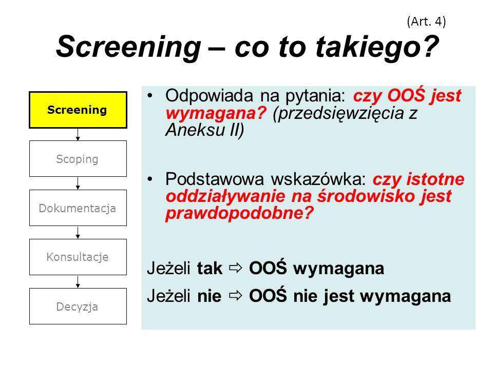 Screening – co to takiego