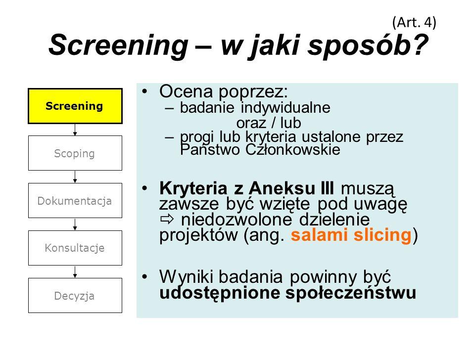 Screening – w jaki sposób
