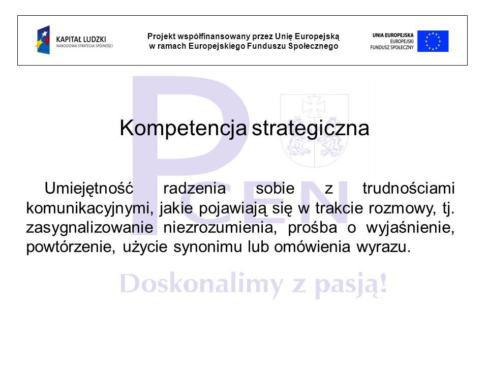Kompetencja strategiczna