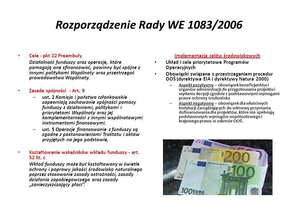 Rozporządzenie Rady WE 1083/2006