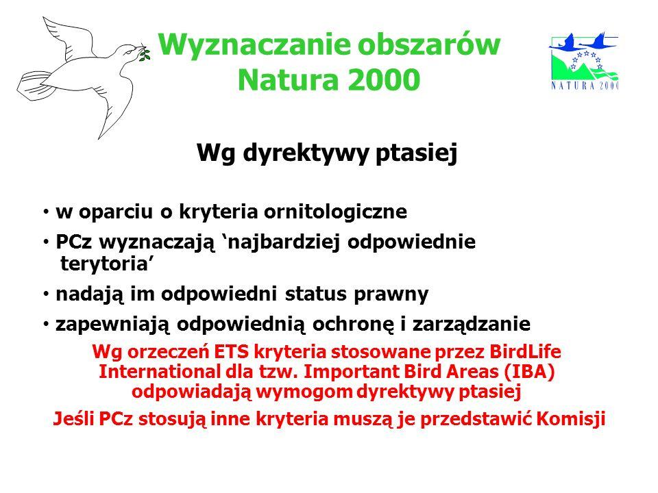 Wyznaczanie obszarów Natura 2000
