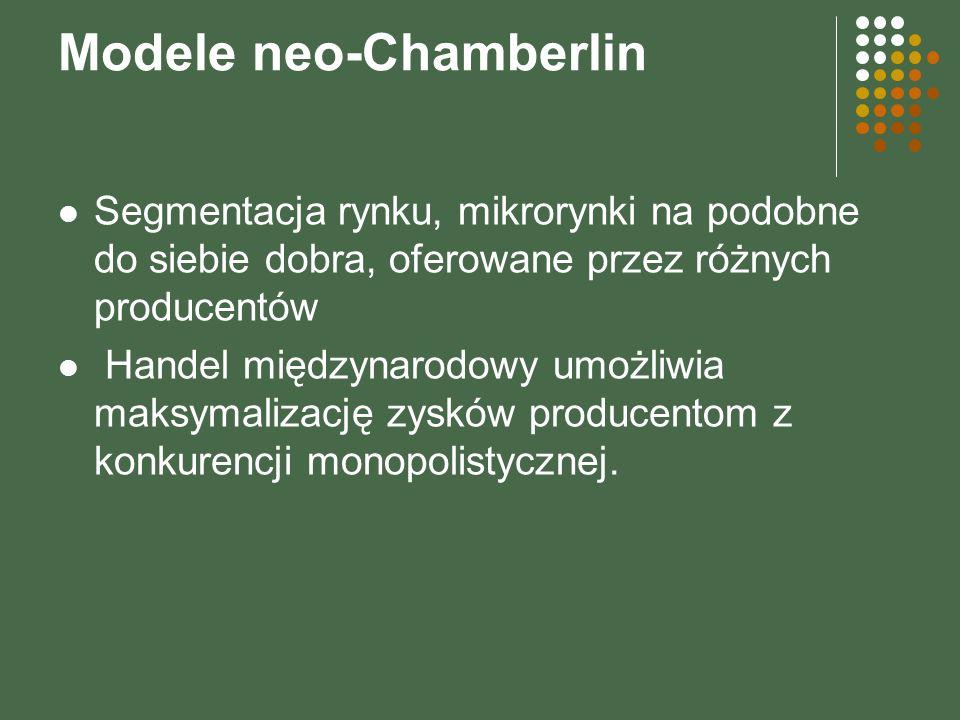 Modele neo-Chamberlin