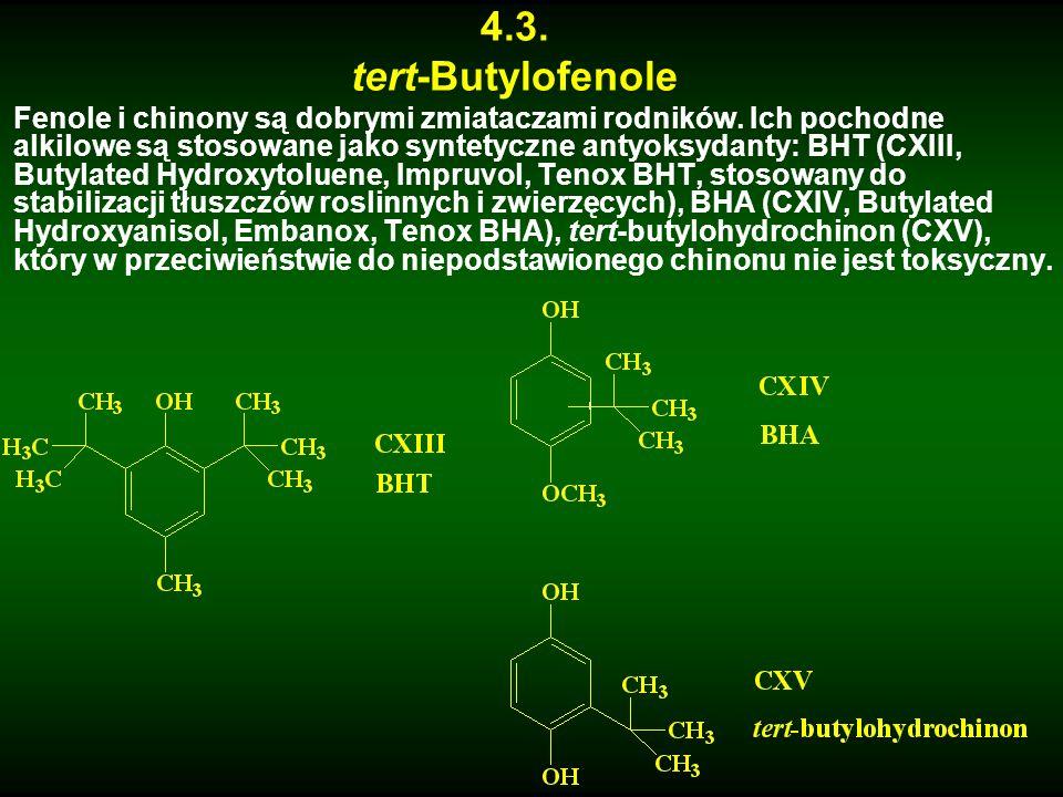 4.3. tert-Butylofenole.