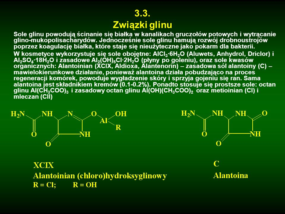 3.3. Związki glinu.