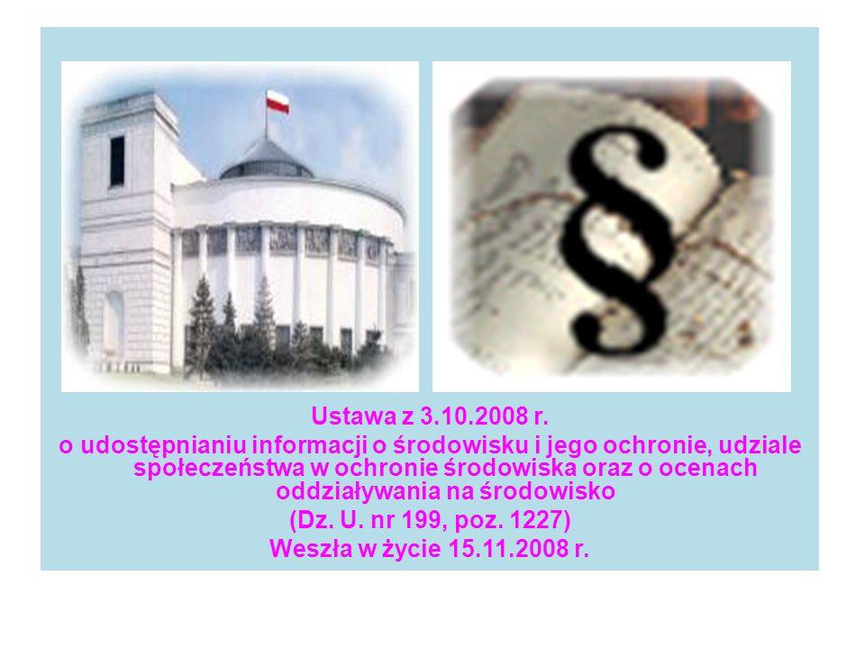 Ustawa z 3.10.2008 r.
