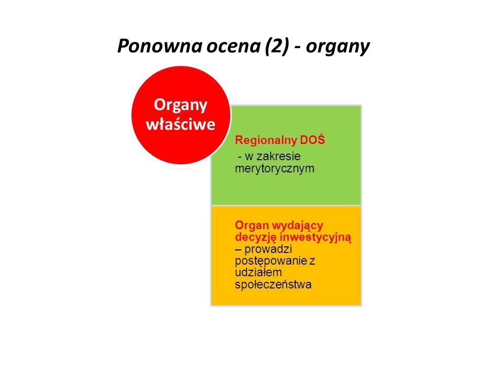 Ponowna ocena (2) - organy