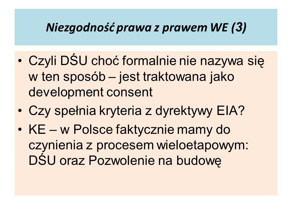 Niezgodność prawa z prawem WE (3)