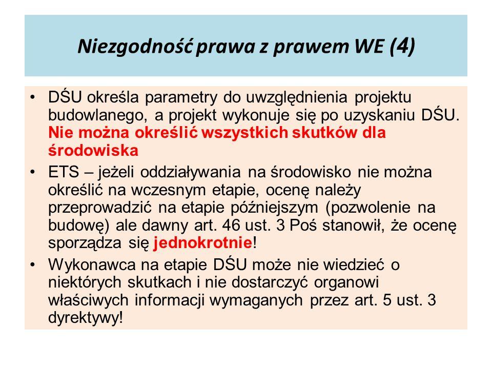 Niezgodność prawa z prawem WE (4)