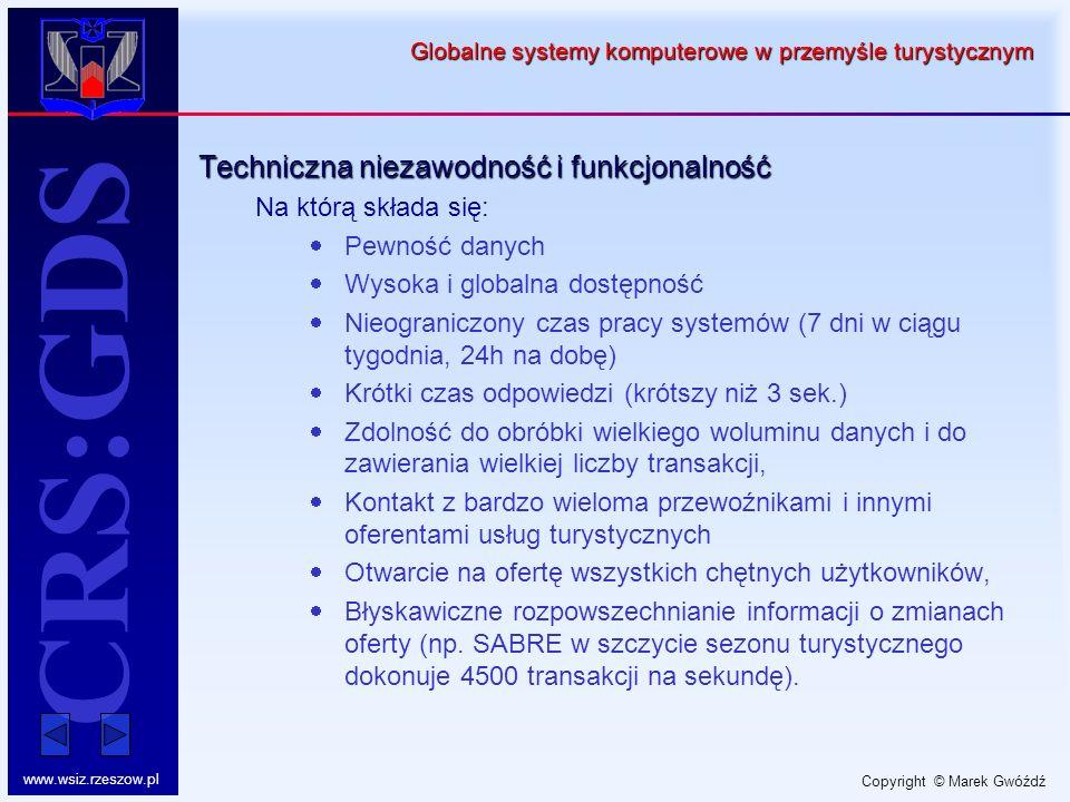 Globalne systemy komputerowe w przemyśle turystycznym