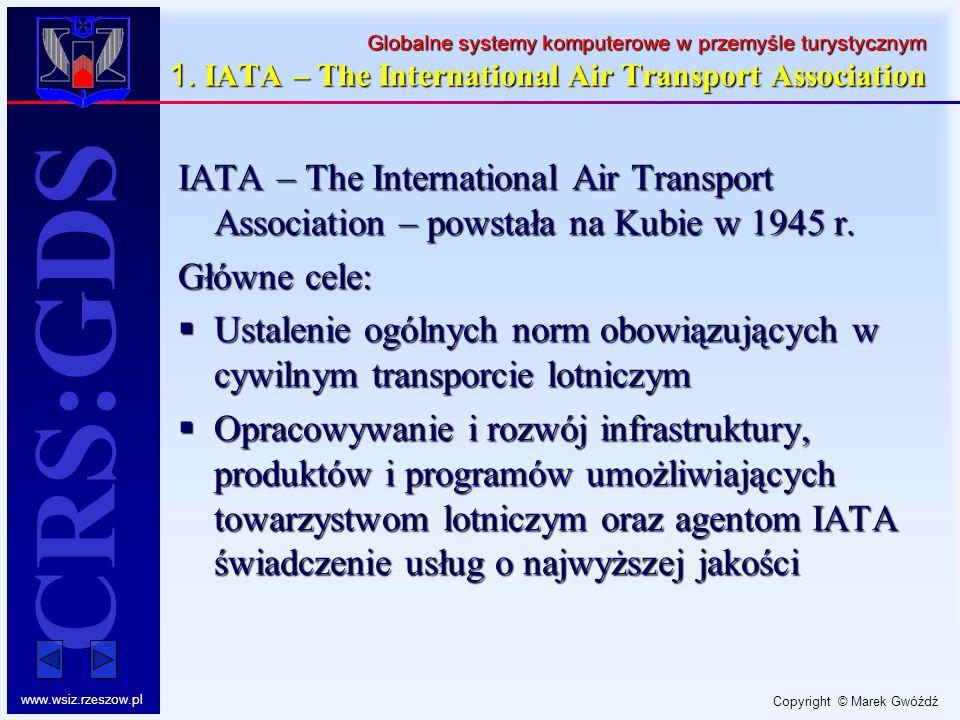 Globalne systemy komputerowe w przemyśle turystycznym 1