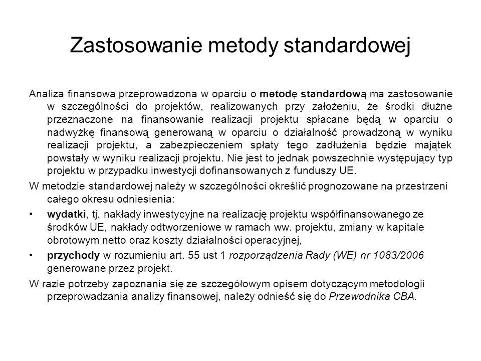 Zastosowanie metody standardowej