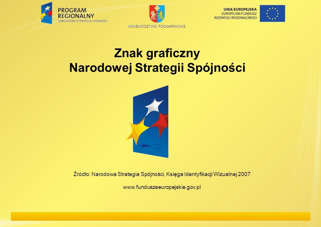 Narodowej Strategii Spójności