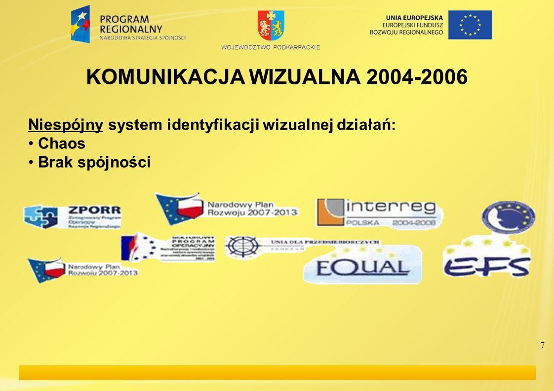 KOMUNIKACJA WIZUALNA 2004-2006