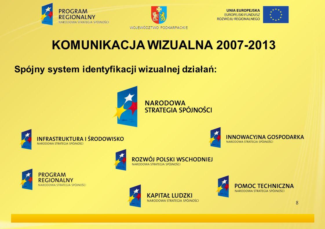 KOMUNIKACJA WIZUALNA 2007-2013